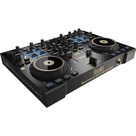 hercules dj console rmx 2 hercules dj console rmx 2 controller black gold 4769259