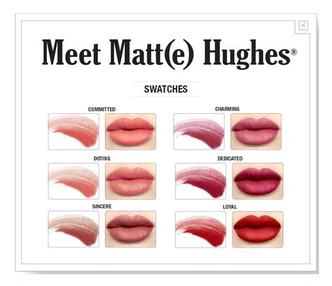 The Balm Meet Matt E Hughes Mini Kit Shades Baru Diskon thebalm meet matt e hughes mini liquid lipsticks set
