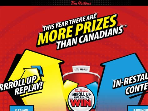 tim hortons rrroll up replay sweepstakes - Tim Hortons Sweepstakes