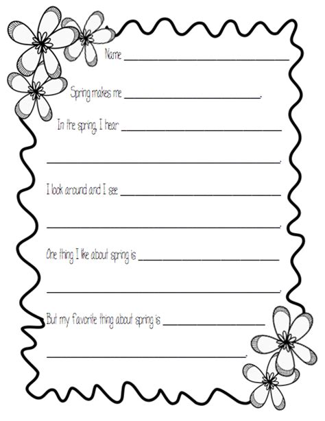 lined paper with spring border printable scroll paper cliparts co