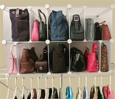 Closet Bag Organizer by Small Closet Purse Organizer Buzzardfilm