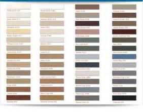 tile grout colors