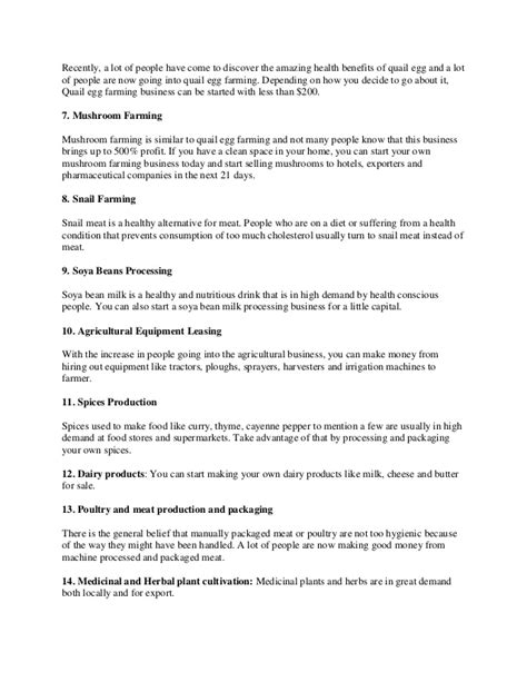 agriculture business plan template kellrvices x fc2 com