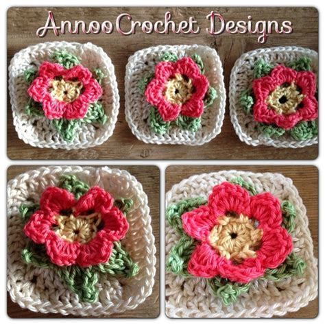 field of flowers crochet rug pattern 225 best images about crochet squares motifs on free pattern ravelry and
