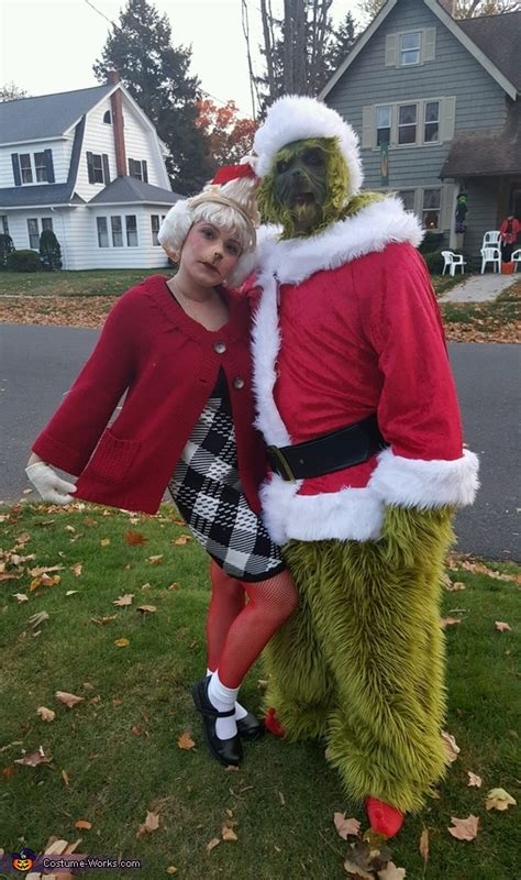 diy grinch and lou who so grinch and lou who costume
