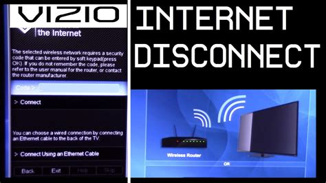 visio wireless connection vizio tv how to disconnect and connect to wifi