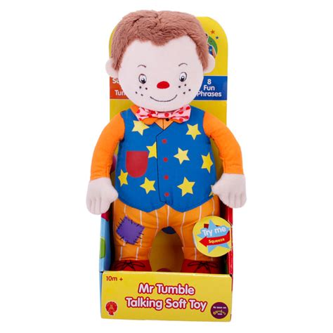 something special mr tumble talking soft toy new