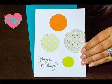7 Creative Suggestions For Using Cards by Diy Creative Birthday Card