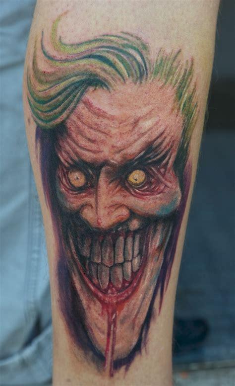joker tattoo by a joker tattoo by graynd on deviantart