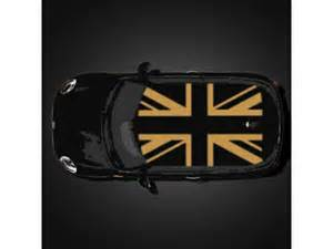 Mini Cooper Union Roof Decal Mini Cooper Roof Graphics Decal Union Oem