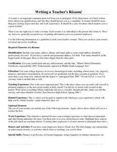 Resume Power Verbs by Perfect Samples Of Teacher Resume For Job Application