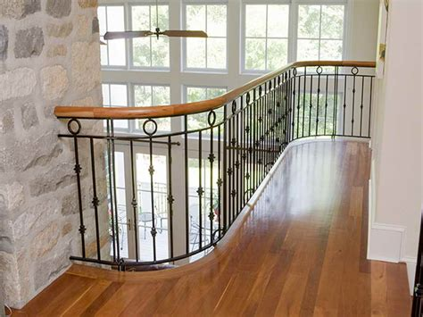 Railing For Stairs Indoors Indoor Luxurious Iron Stair Railings Design Metal