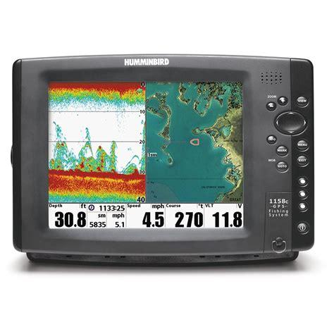 humminbird 174 hd 1158c sonar gps fishfinder 203068 gps