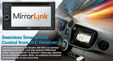 mirrorlink app for android android apps in car with jvc mirrorlink receiver product reviews net