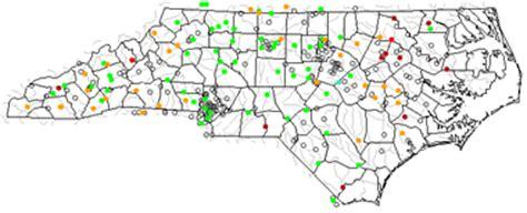 map of north carolina lakes, streams and rivers