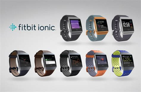 Smartwatch Fitbit Fitbit Annuncia Ionic Il Nuovo Smartwatch Compatibile Con