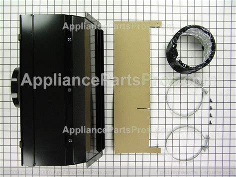 whirlpool w10620783 duct kit appliancepartspros
