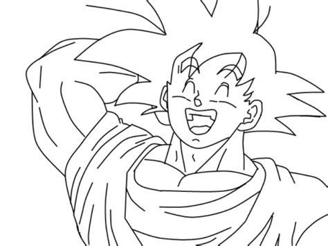 imagenes de goku para dibujar a lapiz completos im 225 genes de goku y sus transformaciones para colorear