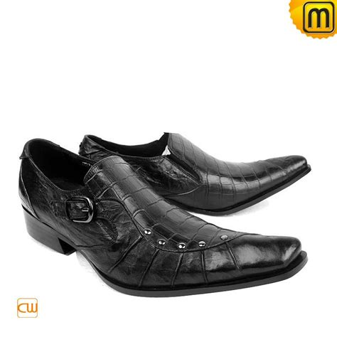 dress shoes italian mens leather dress shoes black cw701105