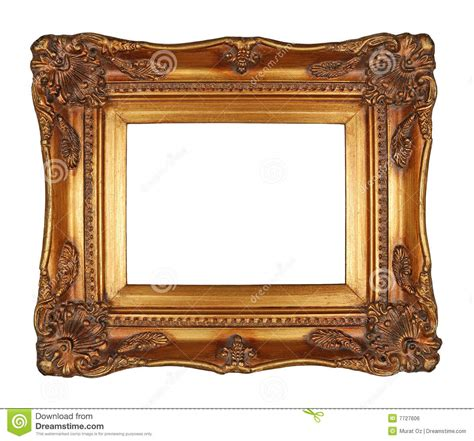 Free Plans by Antique Gold Frame Royalty Free Stock Image Image 7727606