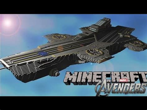 the avengers shield carrier showcase download minecraft