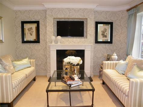 living room wallpaper feature wall feature wall living room design ideas photos inspiration rightmove home ideas