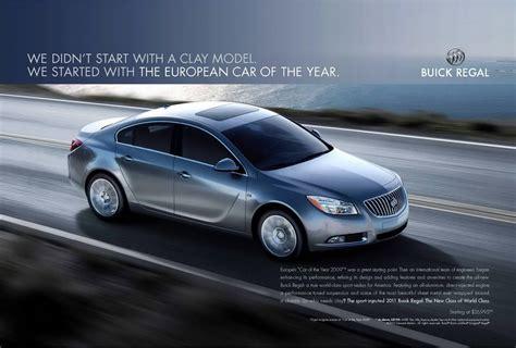 buick advertising 2011 buick regal advertising caign