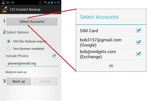 csv format for android contacts backup your android contacts akrutosync