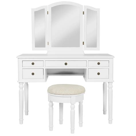 white vanity table with mirror and bench white vanity table with mirror and bench 28 images