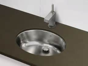 metal bathroom sink decolav stainless steel undermount oval sink brushed
