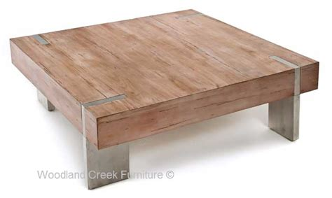 Antique Wood Coffee Table, Rustic Meets Modern Coffee Table