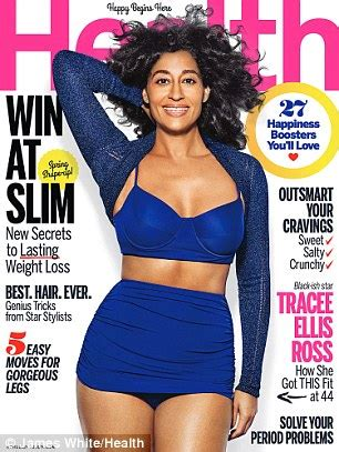 tracee ellis ross wows in skintight sportswear for health