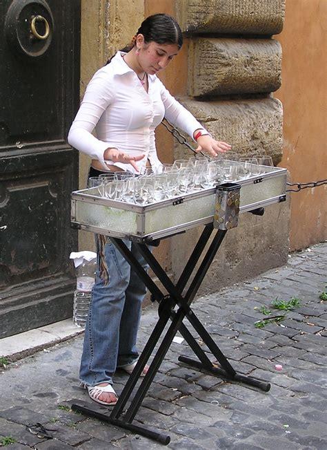 armonica a bicchieri glass harp