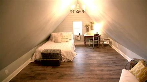 charming attic bedroom video hgtv
