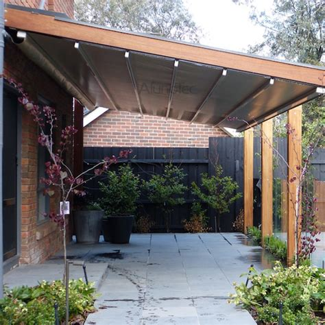 retractable roof awnings pvc retractable roof aluminum pergola buy pvc