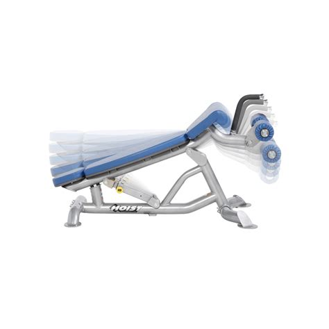 hoist fitness bench hoist fitness cf 3162 adjustable flat decline bench