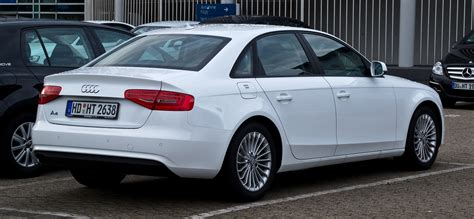 Audi A4 B8 Facelift Rückleuchten by File Audi A4 2 0 Tdi Ambition B8 Facelift Heckansicht