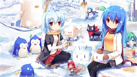 Girl Penguin wallpapers and images   wallpapers, pictures