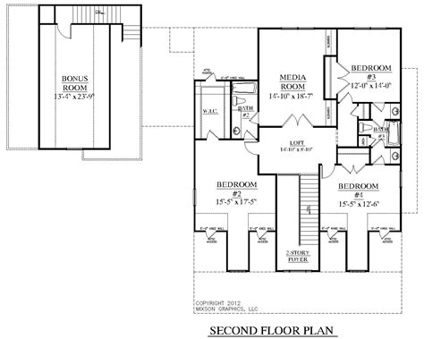 Houseplans Biz House Plan 3452 A The Elmwood A Two Storey House Plans With Kitchen Upstairs