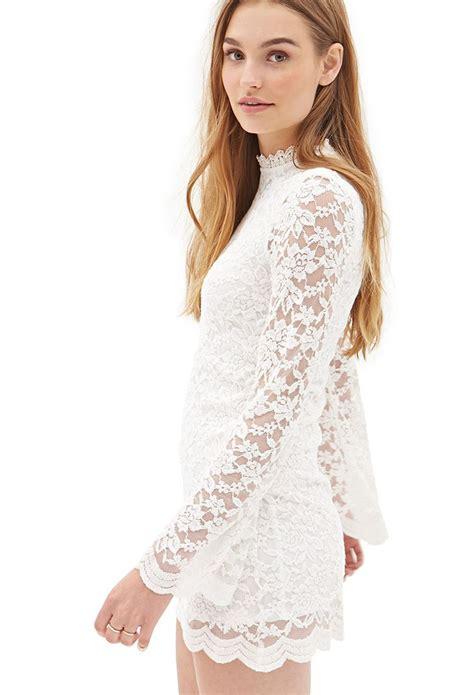 Hi Neck Lace Dress 8994 high neck lace dress