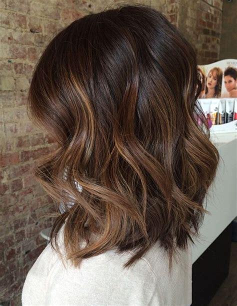 tri color hair for medium length curly hair medium length brown hair color with highlights tri color