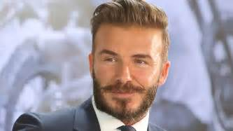 David beckham shown in this file photo may be toying with idea of a