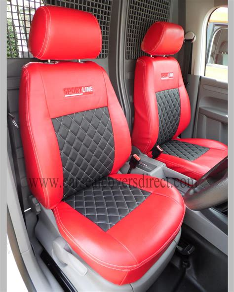 vw caddy back seats volkswagen vw caddy black seat covers custom