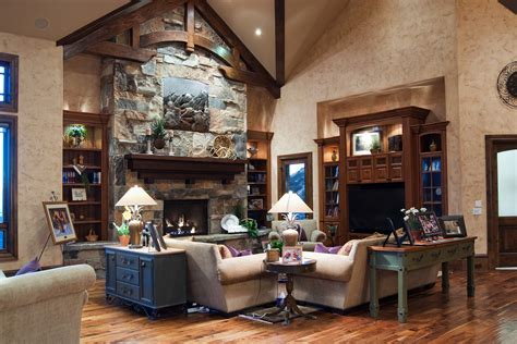 Living Room Cabinets Around Fireplace Built In Cabinets Around Fireplace Family Room Traditional