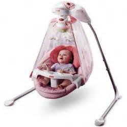 In Swing Baby Fisher Price Butterfly Garden Papasan Cradle Swing