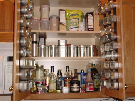 Kitchen Cabinet Spice Racks Kitchen Cabinet Spice Rack From Custommagneticspicerack