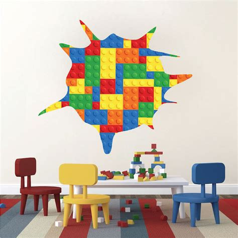lego wall murals lego wall mural lego marvel dc smashed wall 3d decal removable graphic wall sticker lego