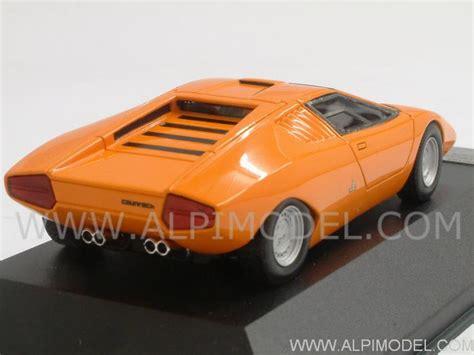 Lamborghini Countach Orange Premium X Lamborghini Countach Prototype 1971 Orange 1