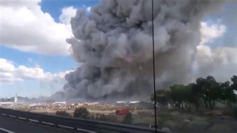 detik api detik detik ledakan dahsyat pabrik kembang api di meksiko