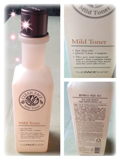 Harga The Shop Clean Mild Toner review clean mild toner của h 227 ng the faceshop kiểm
